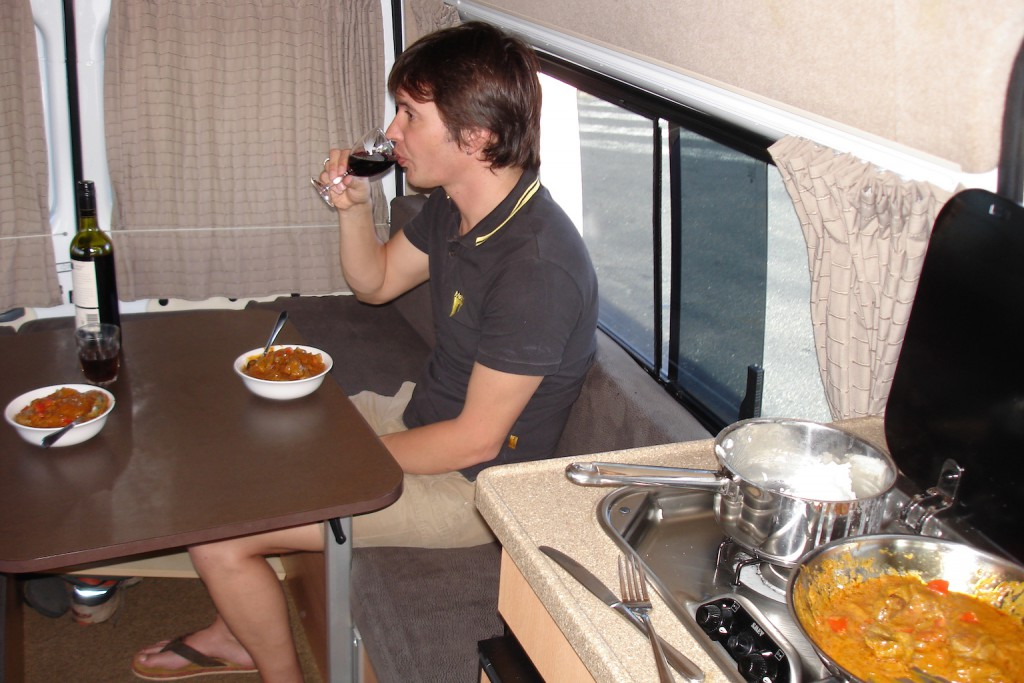 New Camper - Not Our Piece of Cake!