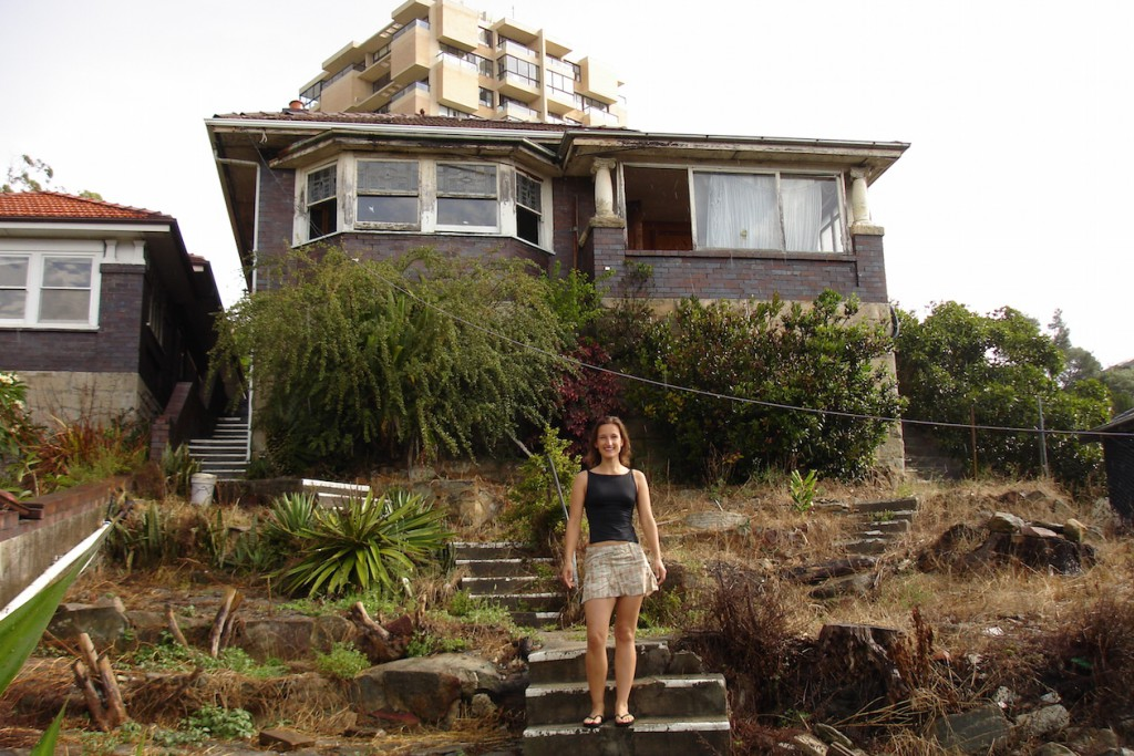 Juliane's old Home in Manly